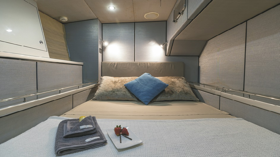 Whitsunday Bliss Luxusyacht Double Ensuite cabin